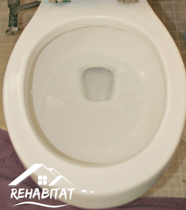 Clean Rust Off Toilet Bowl