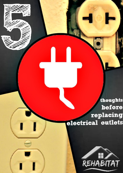 How to replace electrical outlets
