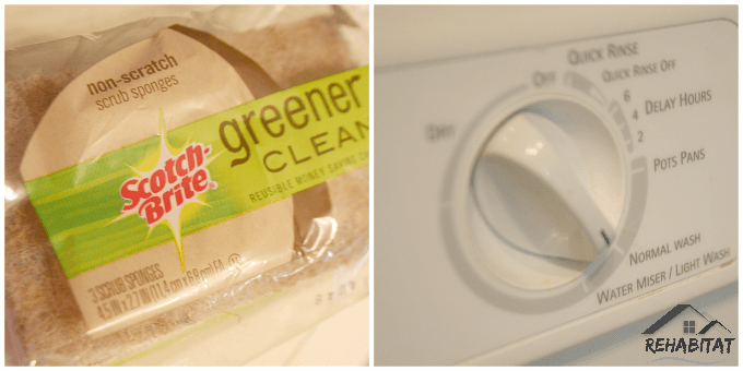 Cleaning the dishwasher - How we did it | rehabitathome.com