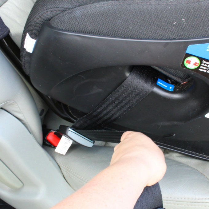 check car seat install before vacation