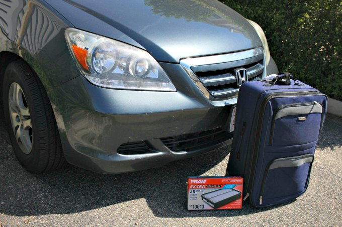 family road trip checklist for car care and maintenance