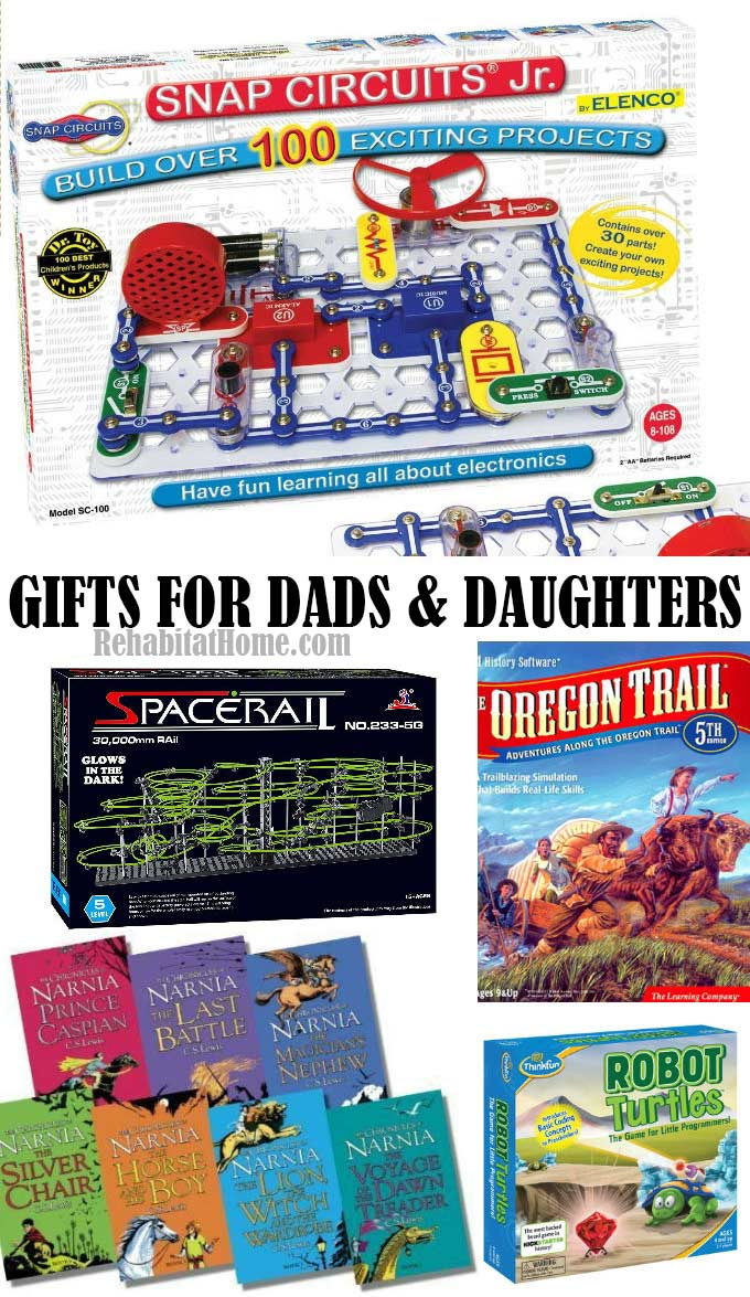 Gift Ideas for daughters from their dads. How young girls can bond with their fathers and enjoy time together.
