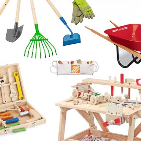Gender Neutral tool sets for kids to play & work with dad