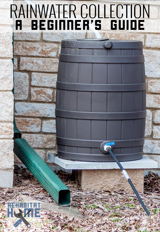 How to get started rainwater harvesting to make it worth it for Home rainwater collection